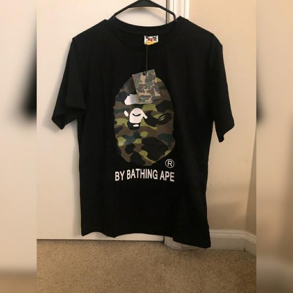 8b6750eb Bape Shirts | Bathing Ape T Shirt | Poshmark